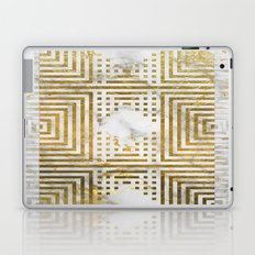 Marble and Gold Pattern #2 Laptop & iPad Skin