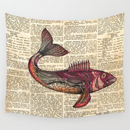 Redfish Wall Tapestry