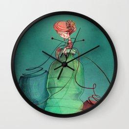 Plastic recycling Wall Clock