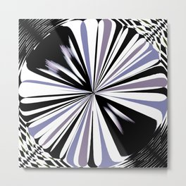 Rotating in Circles Series 09 Metal Print