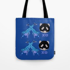 XOXO wild animals Tote Bag