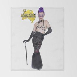 Cougar Morrison WA Dragnation Throw Blanket
