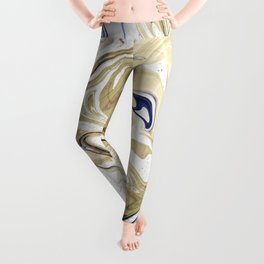 UltraViolet Gold Marble Leggings