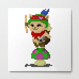 Pixel Teemo Metal Print