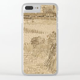 Arles: View from the Wheatfields Clear iPhone Case