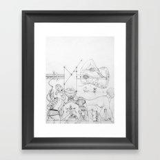 Elbow Framed Art Print