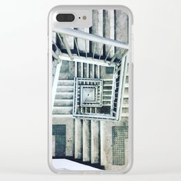 Never Ending Stairway Clear iPhone Case