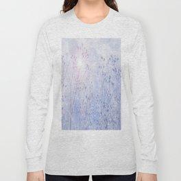 Winter Sparkle On A Sunny Frosty Day #decor #society6 #buyart Long Sleeve T-shirt