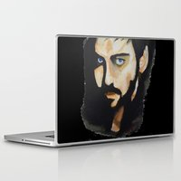 captain hook Laptop & iPad Skins featuring Hook by Brittany Ketcham