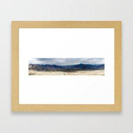 Tibet: Storm on Lhasa river Framed Art Print