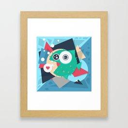 Puffy Framed Art Print