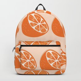 Orange pattern 07 Backpack