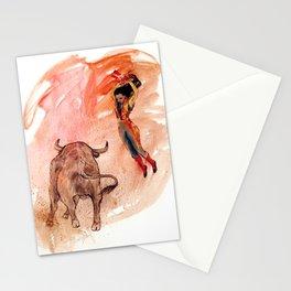Bullfighter Stationery Cards