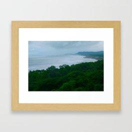 LUSH-COSTA RICA Framed Art Print