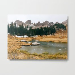 Gore Range – Rocky Mountains Metal Print