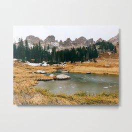 Gore Range – Rocky Mountains Metal Print