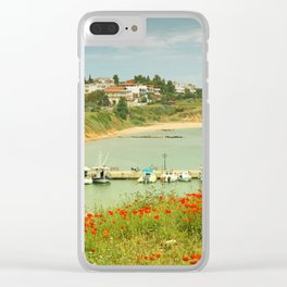 holiday feeling Clear iPhone Case