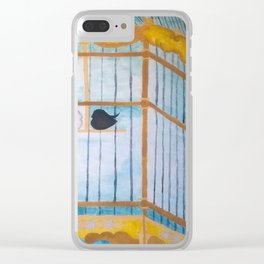 Lovebirds Clear iPhone Case