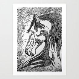 horseseven Art Print