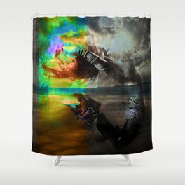 Waves in the infinite Shower Curtain