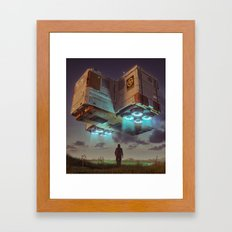 DELTA-3 (everyday 08.04.16) Framed Art Print