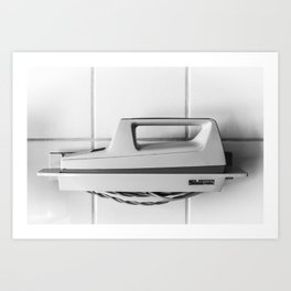 Moulinex on the Wall Art Print