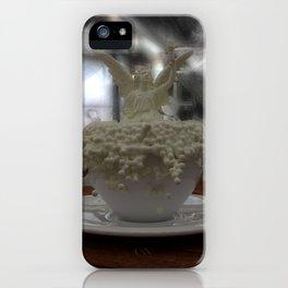 Literal Latte Art iPhone Case