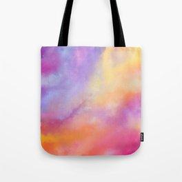Bright Clouds Tote Bag
