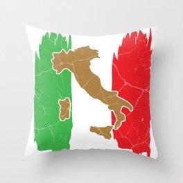 Italy Rome Milan gift Italian Throw Pillow