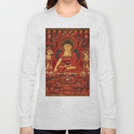 Buddha Shakyamuni as Lord of the Munis Long Sleeve T-shirt