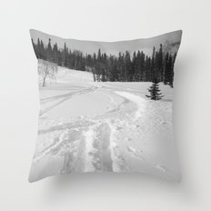 Winter 13 Throw Pillow