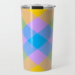Tartan Pattern 8 Travel Mug