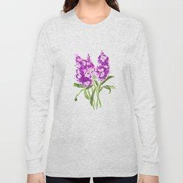 purple larkspur Long Sleeve T-shirt