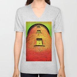 Lighthouse romance 16 Unisex V-Neck