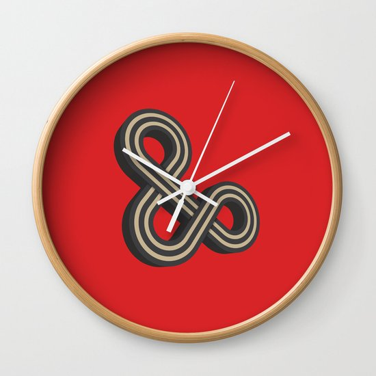 Forever & Ever Wall Clock