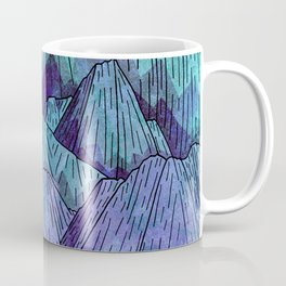 Sunset Sky Mounts Coffee Mug