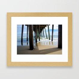 Pier, Too! Framed Art Print