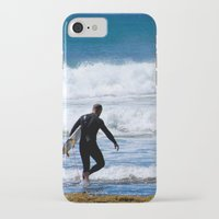 surfer iPhone & iPod Cases featuring Surfer by JohnJohn22