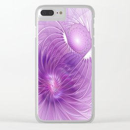 Protection, Abstract Fractal Art Clear iPhone Case