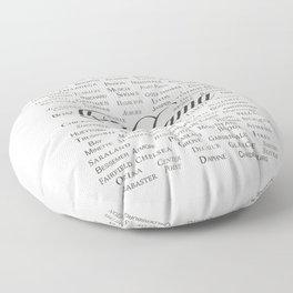 Alabama Floor Pillow