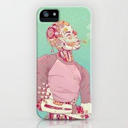 Nostalgic Lady iPhone Case