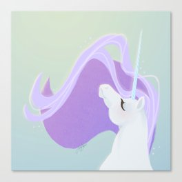 Sunlight Unicorn Canvas Print