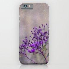 Purple Wildflowers Slim Case iPhone 6s
