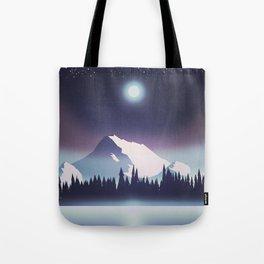 Lake at night Tote Bag