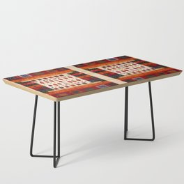 N38 - Epic Bohemian Traditional Andalusian Moroccan Artwork Coffee Table