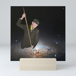 Design a space where your story can happen Mini Art Print