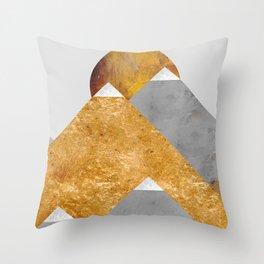 Modern Mountain No6-P2 Throw Pillow