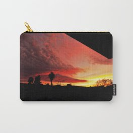 Sunset On Fire Carry-All Pouch
