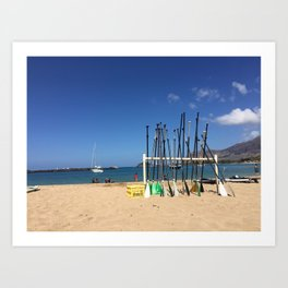 Hawaiian Shore Art Print