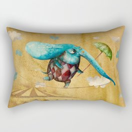 Flying Alfredo  Rectangular Pillow